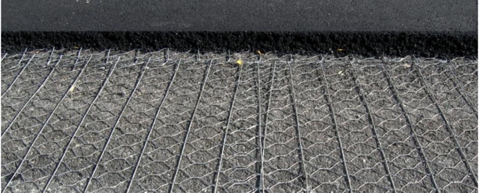 Армирующие стальные сетки для асфальтового покрытия