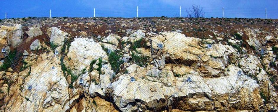 Защита от камнепадов, берегоукрепление